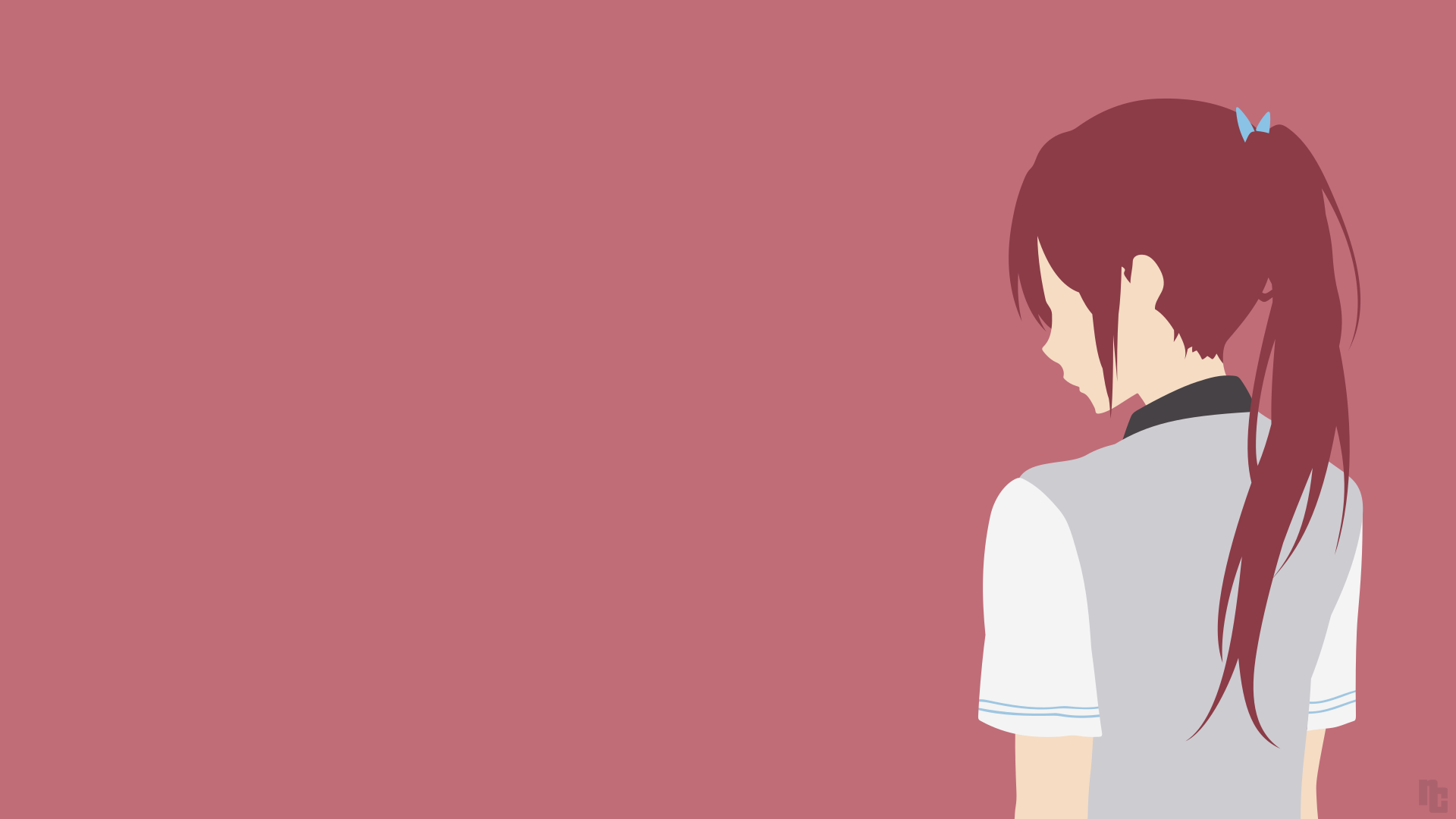Free Gou Matsuoka Minimalist Wallpaper Until if/when funimation casts a different voice actor for rin, even if they are already through recording. ncoll36